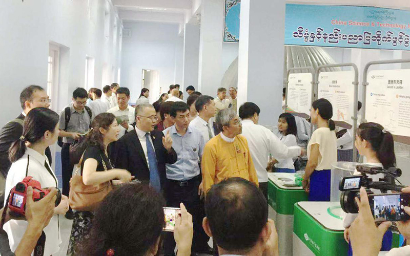Hefei Panshi Helping China's Mobile Science Resources Spread to Myanmar in Response to BRI